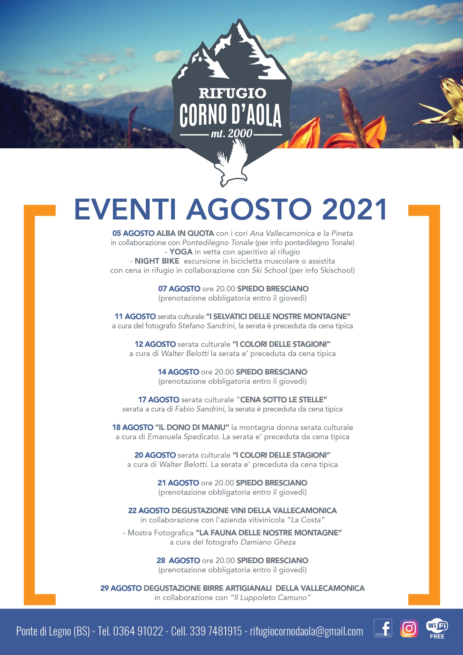 You are currently viewing Eventi Agosto 2021